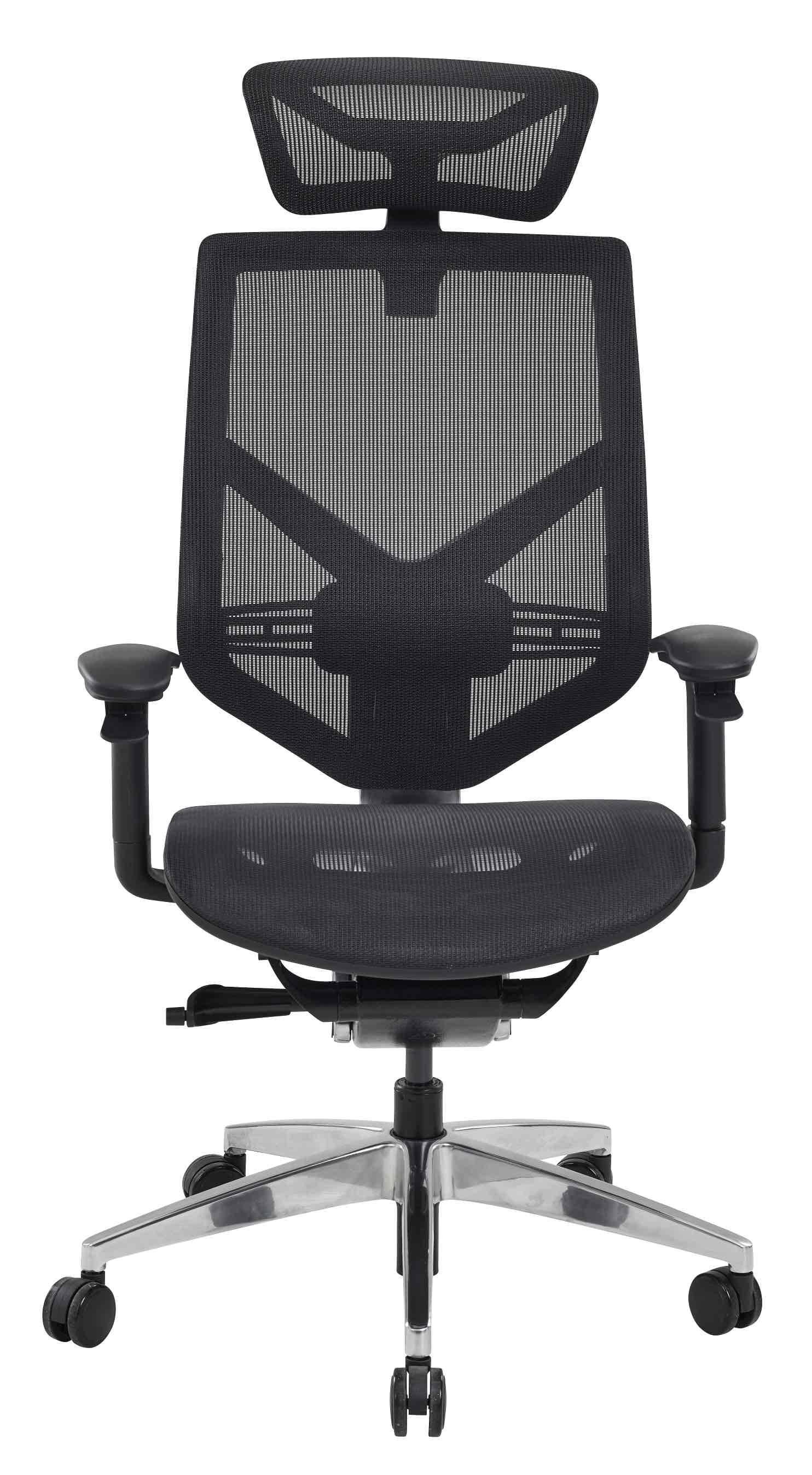 Fauteuil de bureau ergonomique DARK en résille