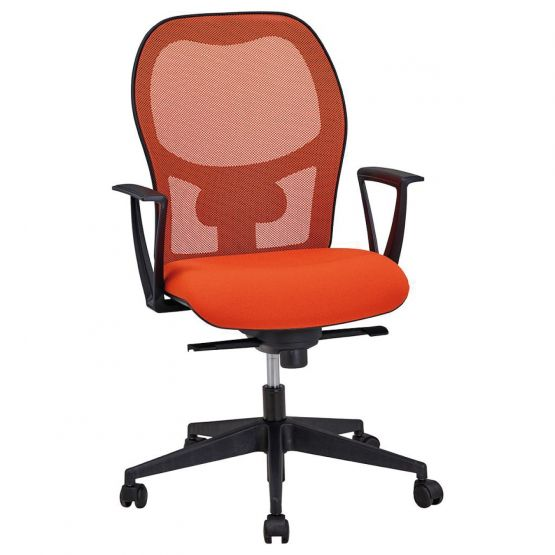 prosiege-chaise-operative-synchrone-PARK-en-resille-rouge-et-assise-rouge