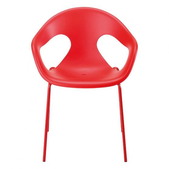 fauteuil-empilable-en-polypropylene-rouge-SON